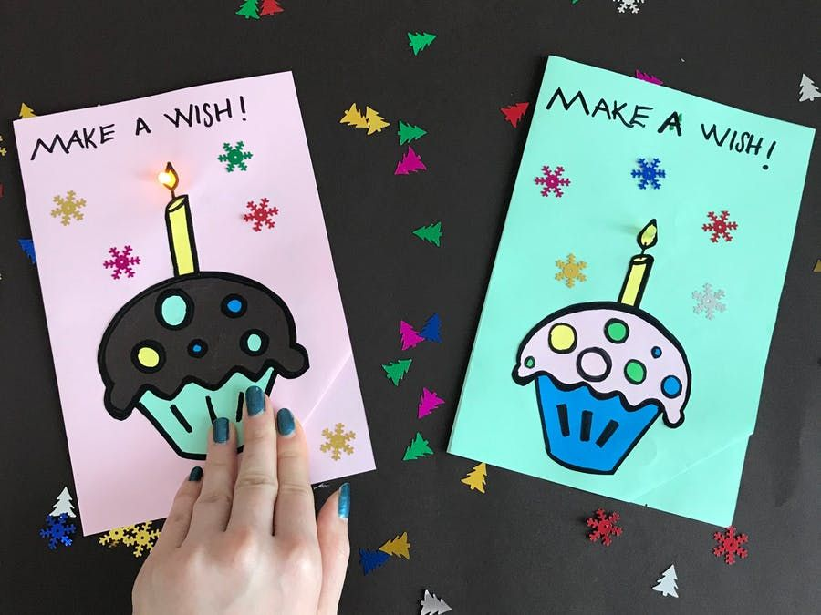 let's make a paper circuit birthday card  paper circuits