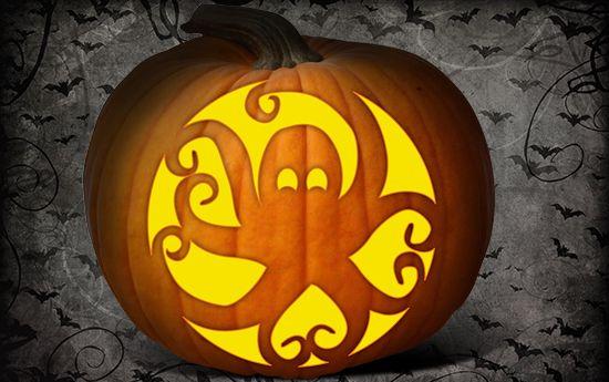 Pumpkin Carving Fun Animal Designs And Templates Octopus