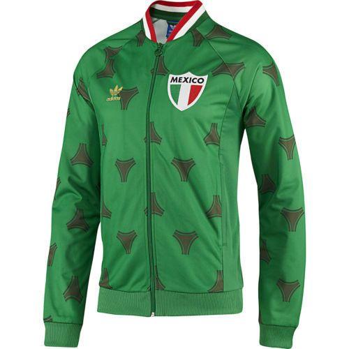 821f7e6baa85 Nuevo México Adidas Retro TT Full Zip chaqueta de pista de fútbol fútbol  palabra Taza