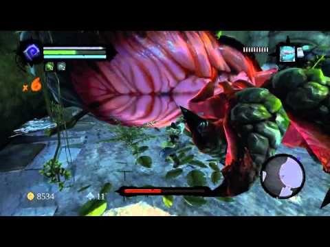 Darksiders 2 - Karkinos Boss Fight Gameplay (HD) - YouTube