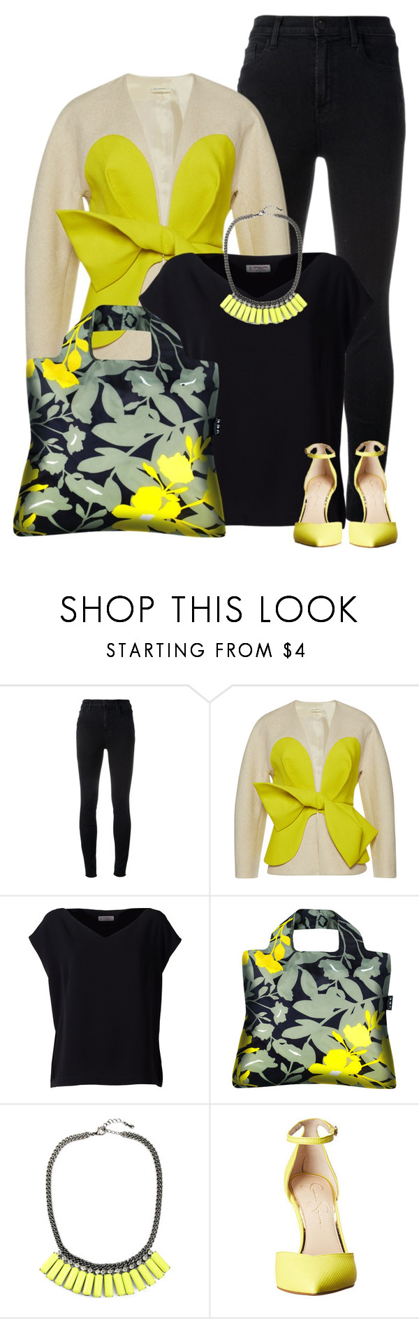 """""""Untitled #699"""" by oxigenio ❤ liked on Polyvore featuring J Brand, Delpozo, Alberto Biani and Jessica Simpson"""