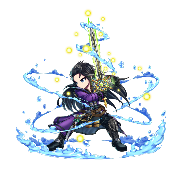 FINAL FANTASY BRAVE EXVIUS x Brave Frontier: Laswell and Lid
