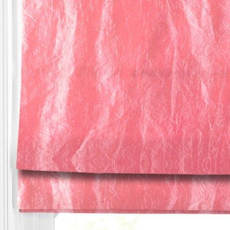 We Love The Crush Look Of Our Polo Hot Pink Roman Blind Blinds