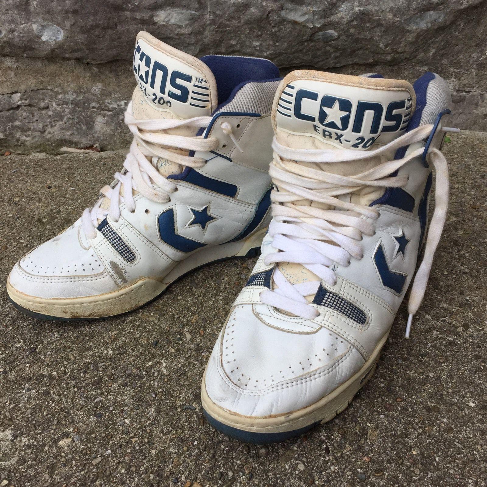 1980's Roses 200 Cons 12 Shoes Erx Size N Converse Guns Vtg nP80kOw