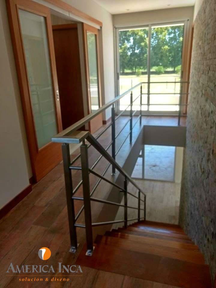 Barandas de Acero Inoxidable #escaleras #decoracion #decoideas