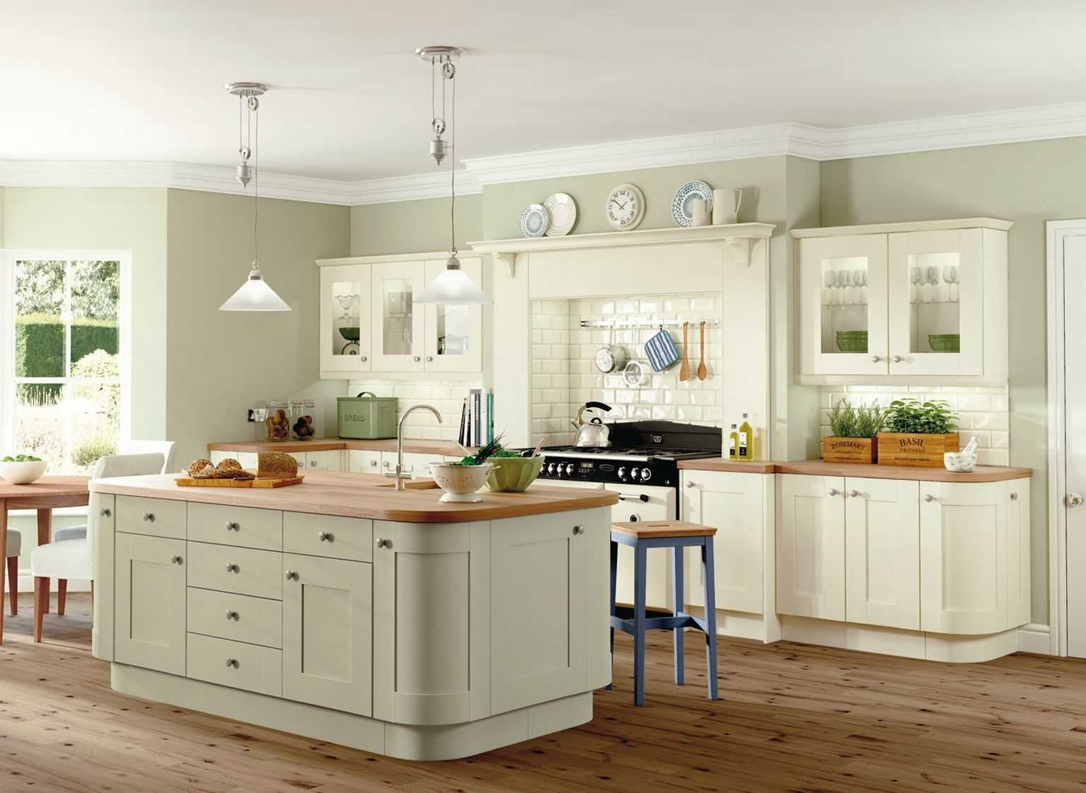 Best Fabulous Kitchen Wall Colours With Cream Cabinets Trends 400 x 300