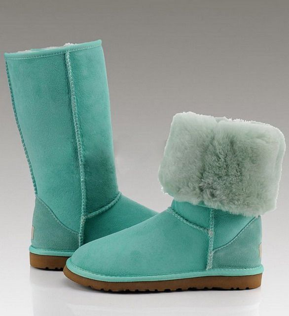Tall Classic Mint Green Ugg 5815 Boots Outlet UK $69