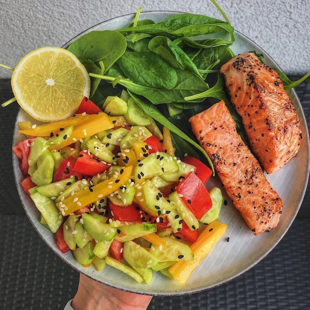 Правильный ужин и обед для похудения