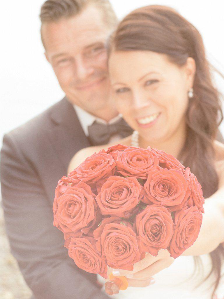 Brudebuketten i fokus