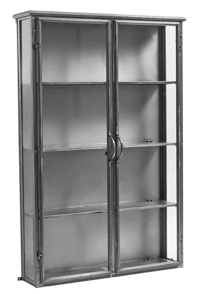 Design Vintage | Iron Wall Cabinet | Industrial Wall Cabinet