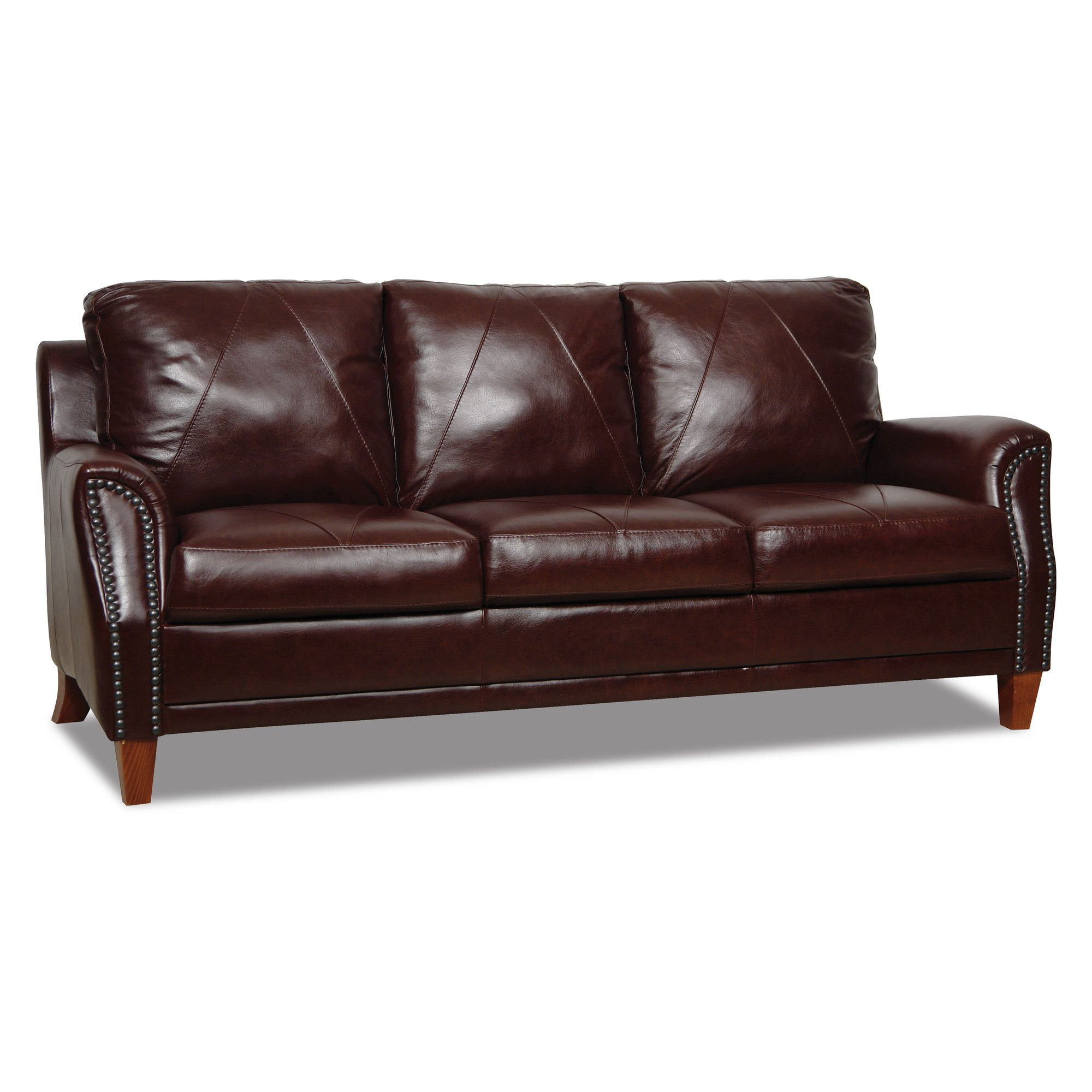Luke Leather Austin Leather Modular Sofa & Reviews