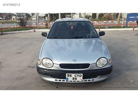 toyota corolla 1.3 terra 1999 model 19.999 tl sahibinden satılık