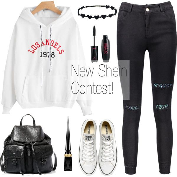 New Shein Contest in My Group! by dora04 on Polyvore featuring Converse, Steve Madden and Christian Louboutin