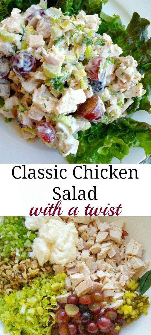 The Best Chicken Salad Recipe Best Chicken Salad Recipe Chicken Salad Recipes Salad Recipes