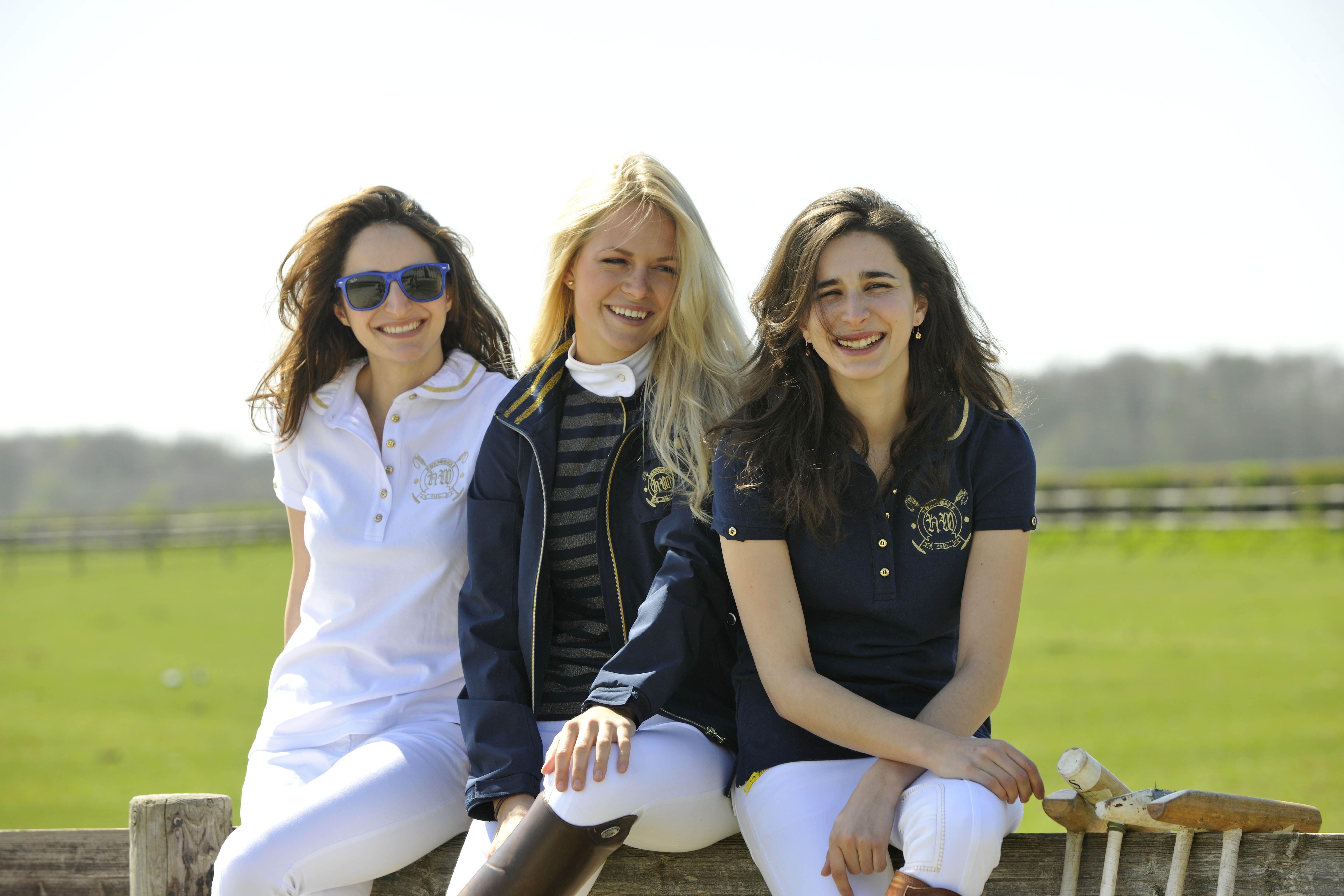 Horseware Polo S/S14: Maddie polo / Gisele jacket / Bibi sleeveless polo / Elise breeches