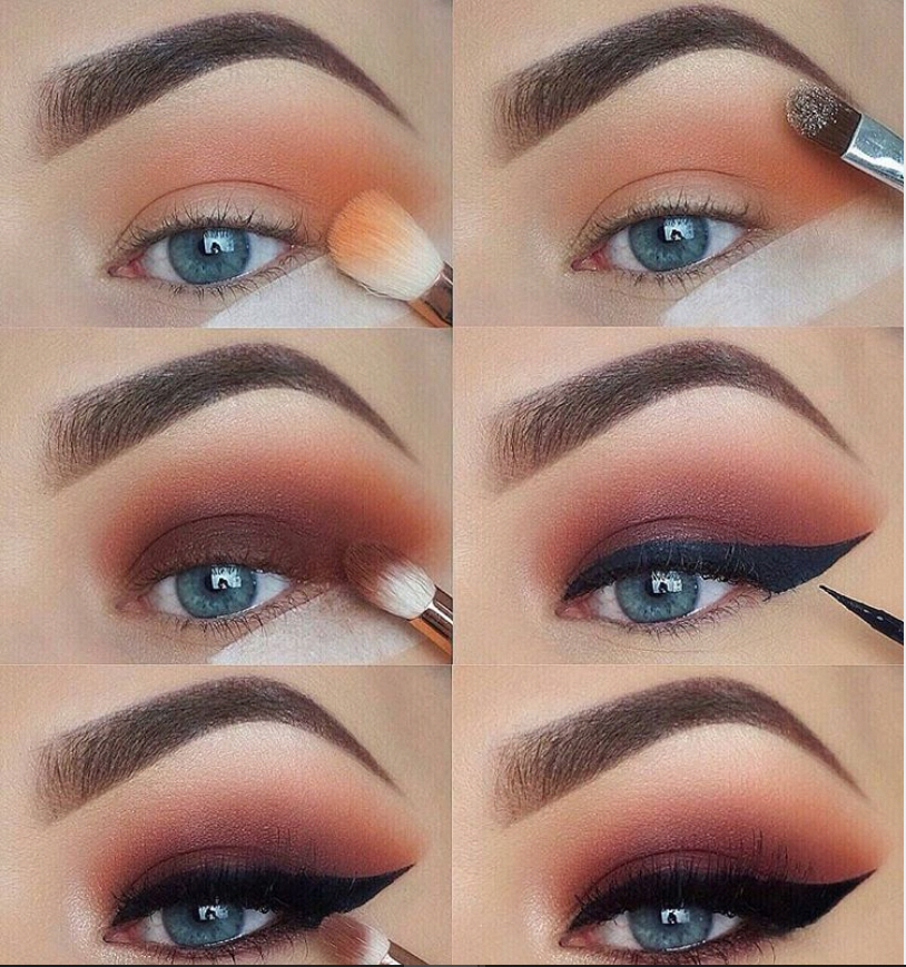 60 Easy Eye Makeup Tutorial For Beginners Step By Step Ideas(Eyebrow& Eyeshadow) #bronzeeyemakeup #eyemakeup