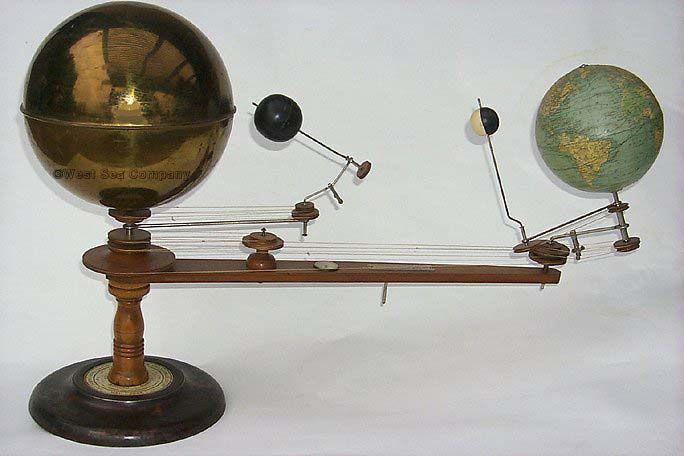 brass solar system model - photo #15