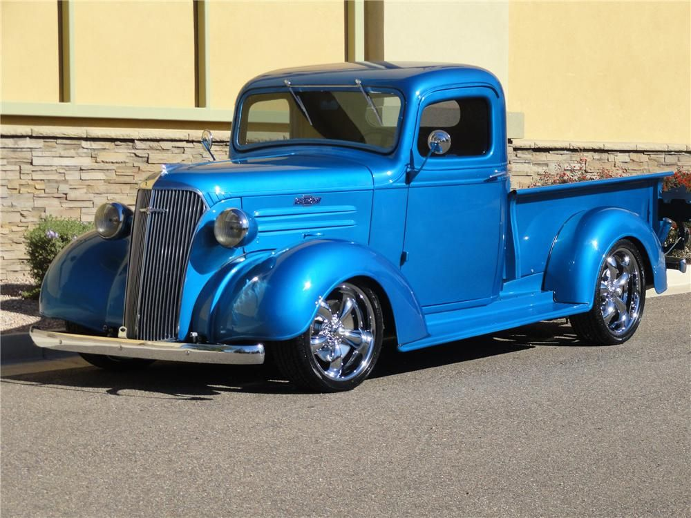 Sold At Scottsdale 2012 Lot 77 1937 Chevrolet Custom Pickup