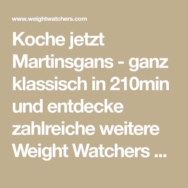Martinsgans - ganz klassisch Rezept | WW Deutschland
