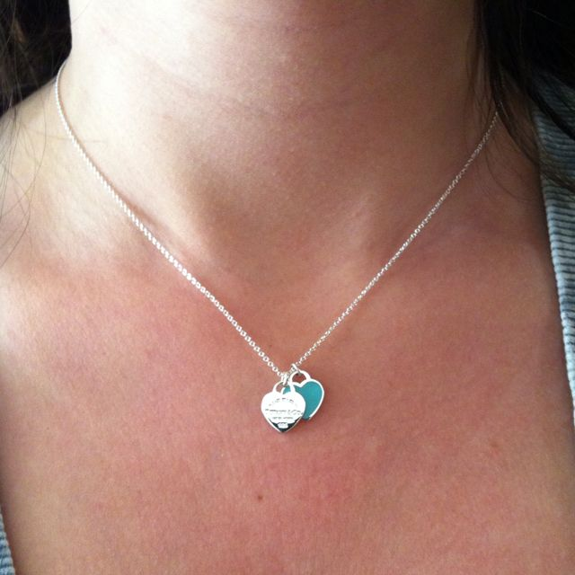 5525706383dd Tiffany necklace from my BFFL!  Cyber Monday