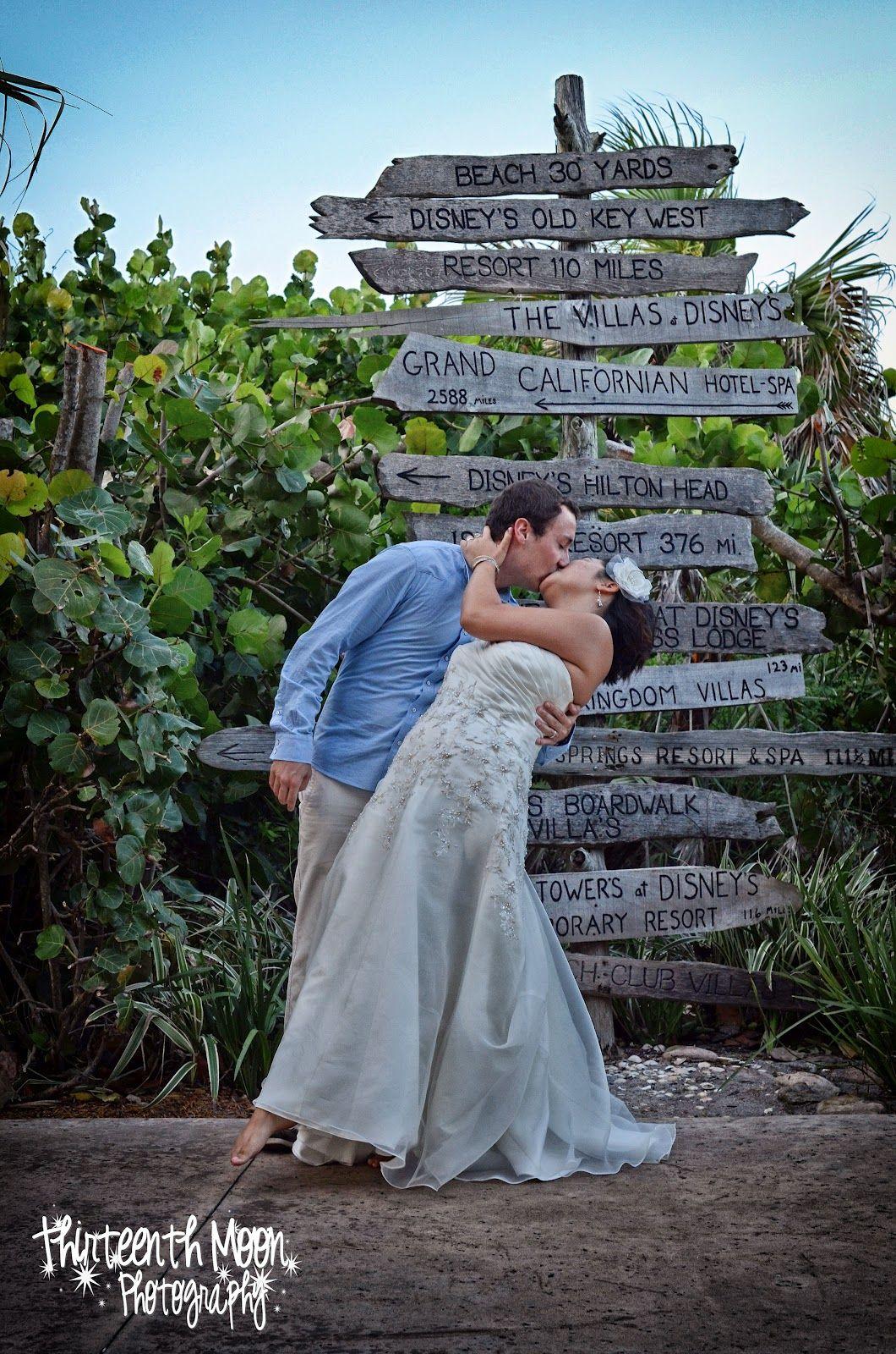 Disney Vero Beach Elopement Wedding Photography