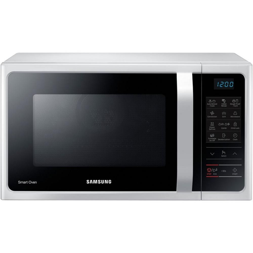 Microwave Samsung Not Heating: Samsung MC28H5013AW 28 Litre Combination Microwave