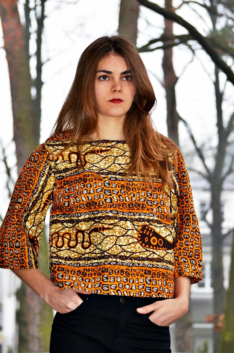 African print dresses for weddings  UTB AFRICAN PRINT BOXYTOP  by Urban Tribe Berlin on Afrikrea