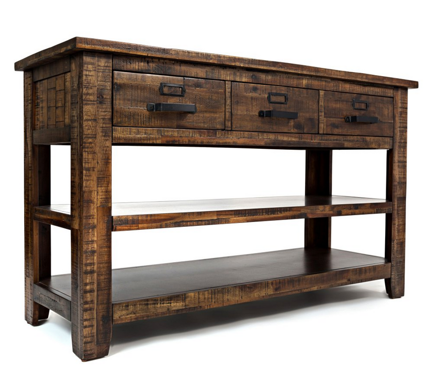 Outstanding Acacia Wood Distressed Console Table Sofa Table Decor Ibusinesslaw Wood Chair Design Ideas Ibusinesslaworg