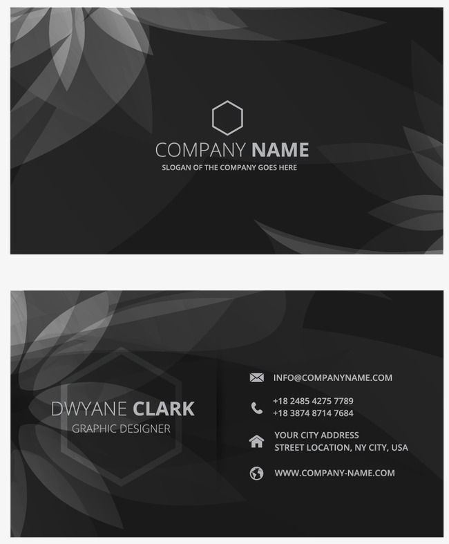 Business Card Business Vector Card Vector Business Cards Png Transparent Clipart Image And Psd File For Free Download Business Cards Creative Business Card Pattern Black Business Card