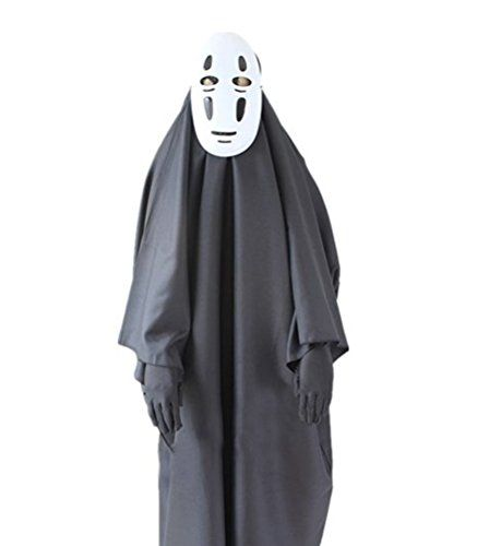 spirited away no face man cosplay costumes mask hayao miyazaki anime