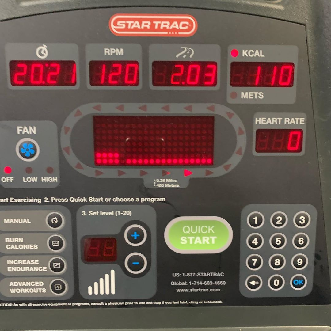 cardio trying to get back to training #olyptical #cardio #breath #health #tired...