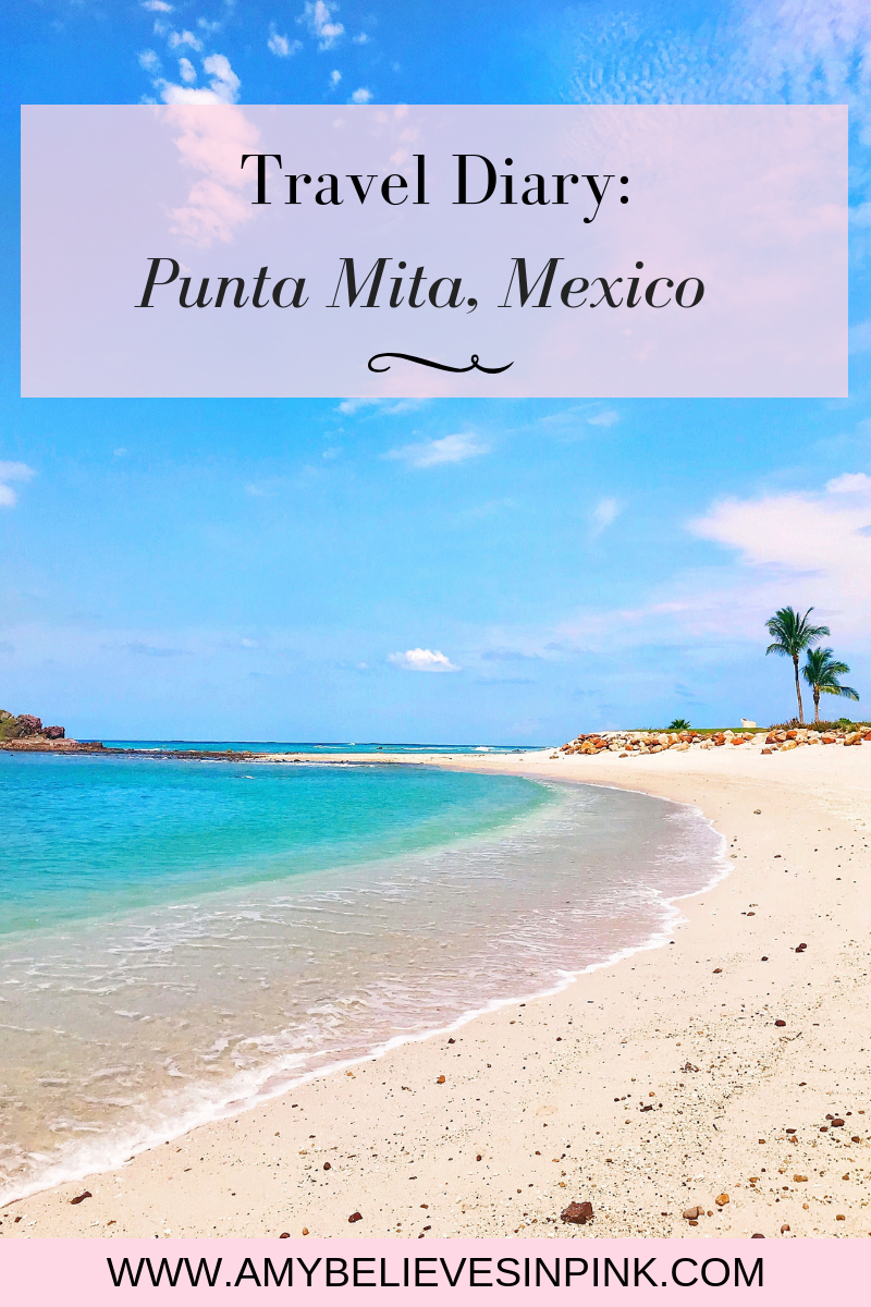 Sharing where we stayed, what we did, where we ate, and what I wore throughout our five-night stay in Punta Mita, Mexico! // Punta Mita Mexico Travel Guide // www.amybelievesinpink.com