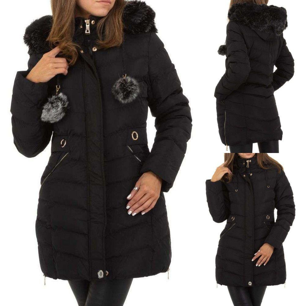 női téli kabát fekete Divatos Viselet női téli kabát | budmil