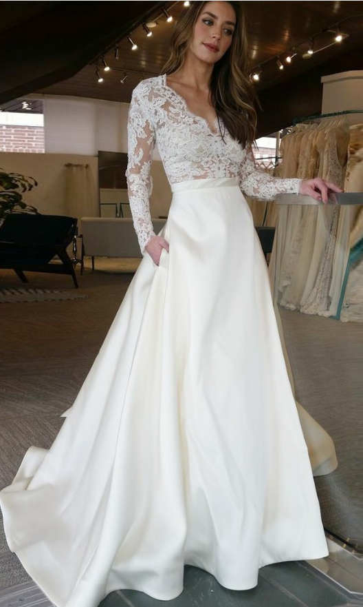 Charming Prom Dress, Long Sleeve Prom Dresses with #prom #promdress ...