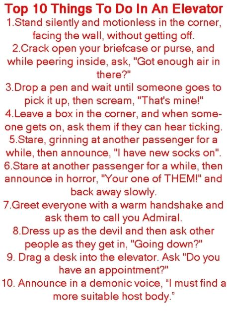 Things that make you laugh