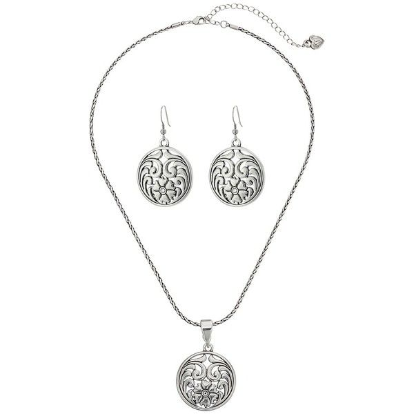 Mf western medallion necklaceearrings set silver jewelry sets mf western medallion necklaceearrings set silver jewelry sets 28 aloadofball Image collections