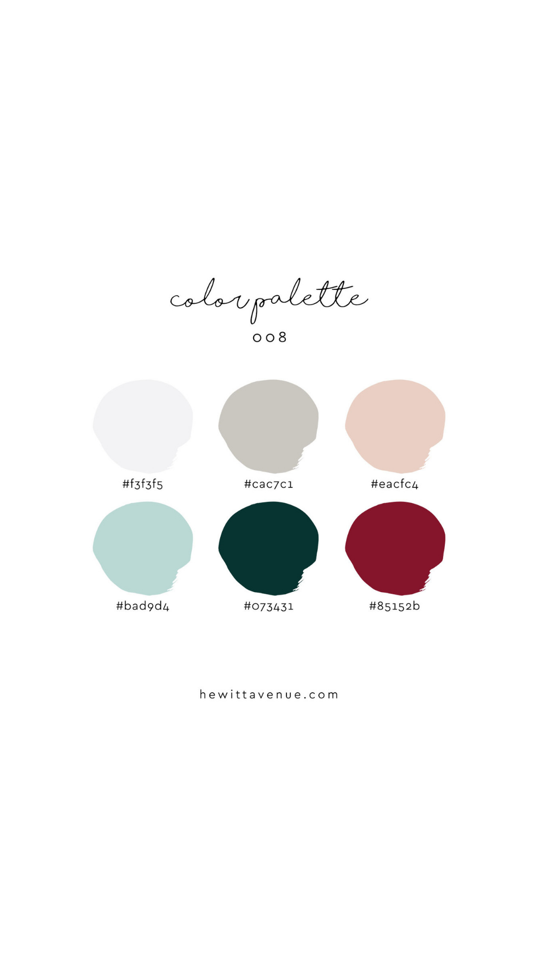Christmas Color Palette 2019 modern christmas color palette | Color Inspiration in 2019