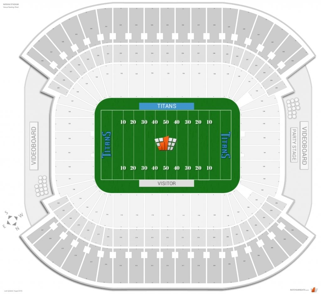 The Most Incredible Tennessee Titans Stadium Seating Chart