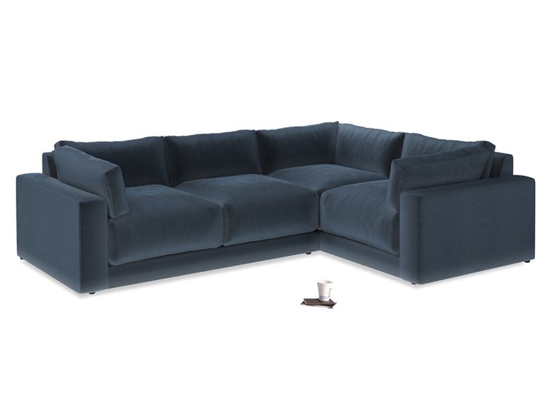 outlet store 5d9ab 66d82 Atticus Corner Sofa | Home ideas | Large sofa bed, Blue ...