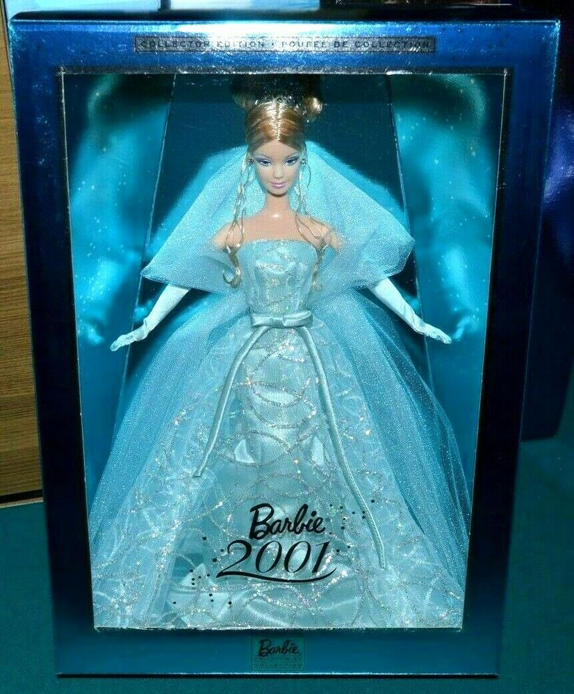Details about NIB2001 BARBIE DOLL NEW YEARS EVE