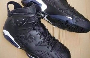 The Air Jordan 6 'Black Cat' Has Cat Logos on the Insoles