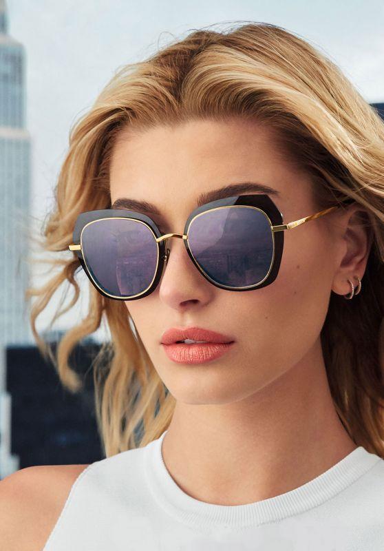 113ea28cee5 Hailey Baldwin - Bolon Eyewear August 2017 Photoshoot