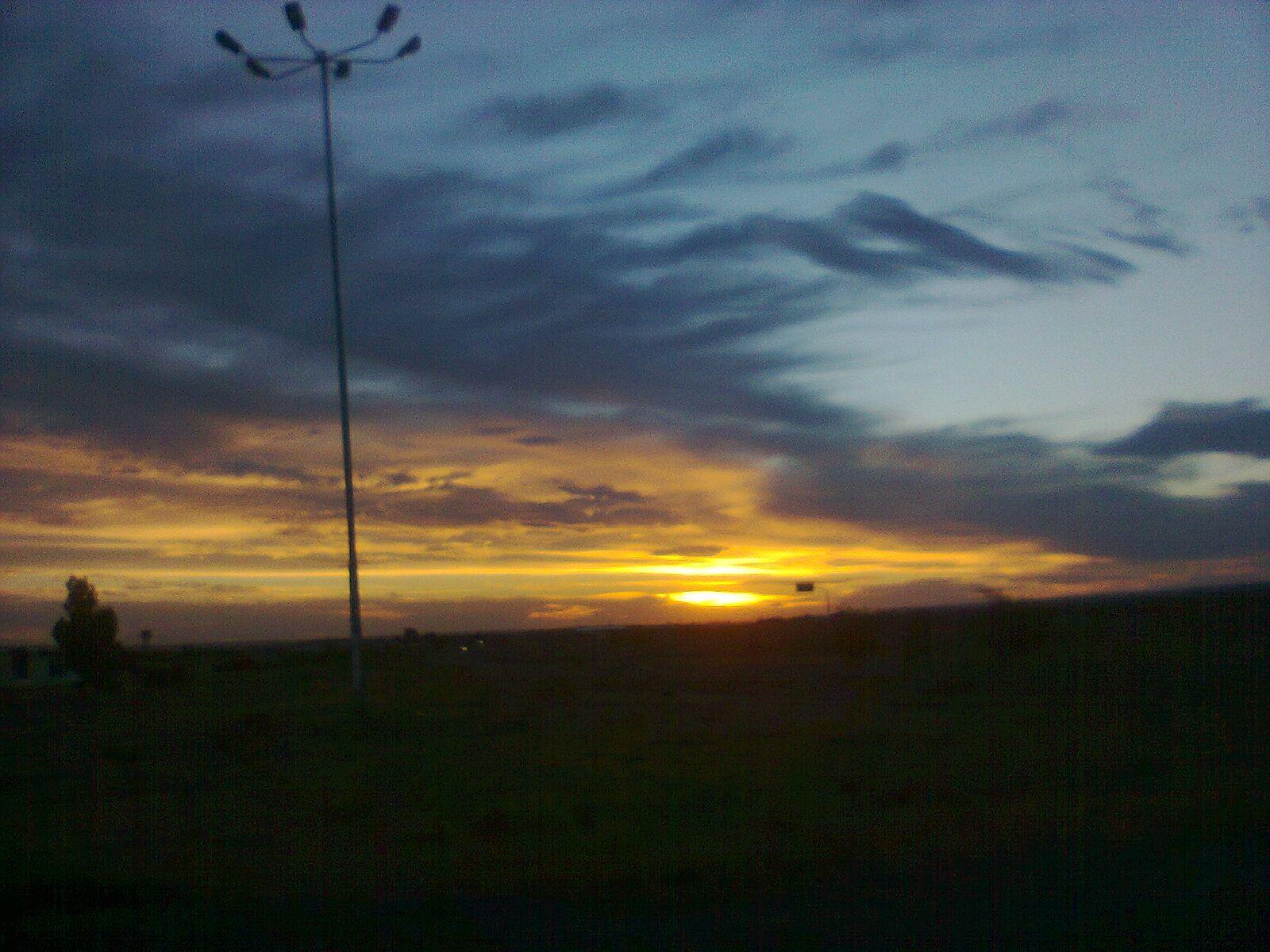 Algún Lugar De La Patagonia Argentina La Patagonia Argentina Nubes Cielo