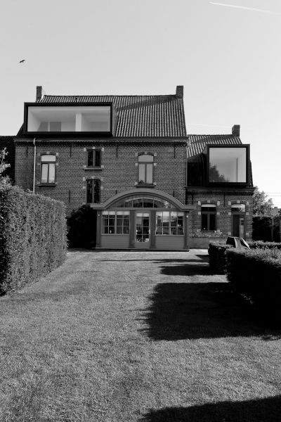 reconversion DV   drongen - Projects -  CAAN Architecten / Gent