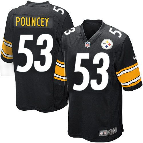 Pin on Steelers Maurkice Pouncey Black Authentic Jersey For ...