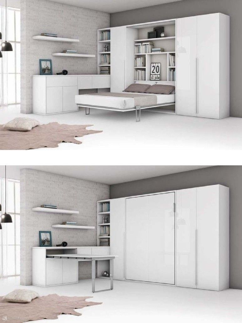Fresh Murphy Beds for Small Spaces