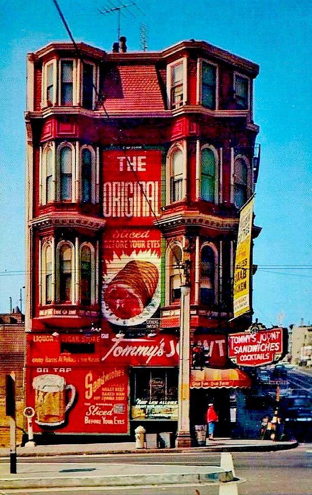The Orignal original Tommys Joynt Resturant 1953