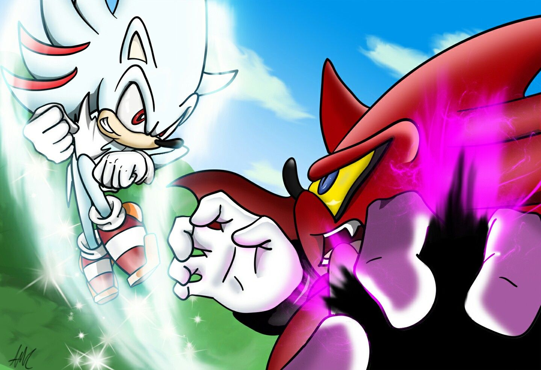 Hyper Sonic Vs Perfect Nazo Wallpaper Sonic Shadow Sonic
