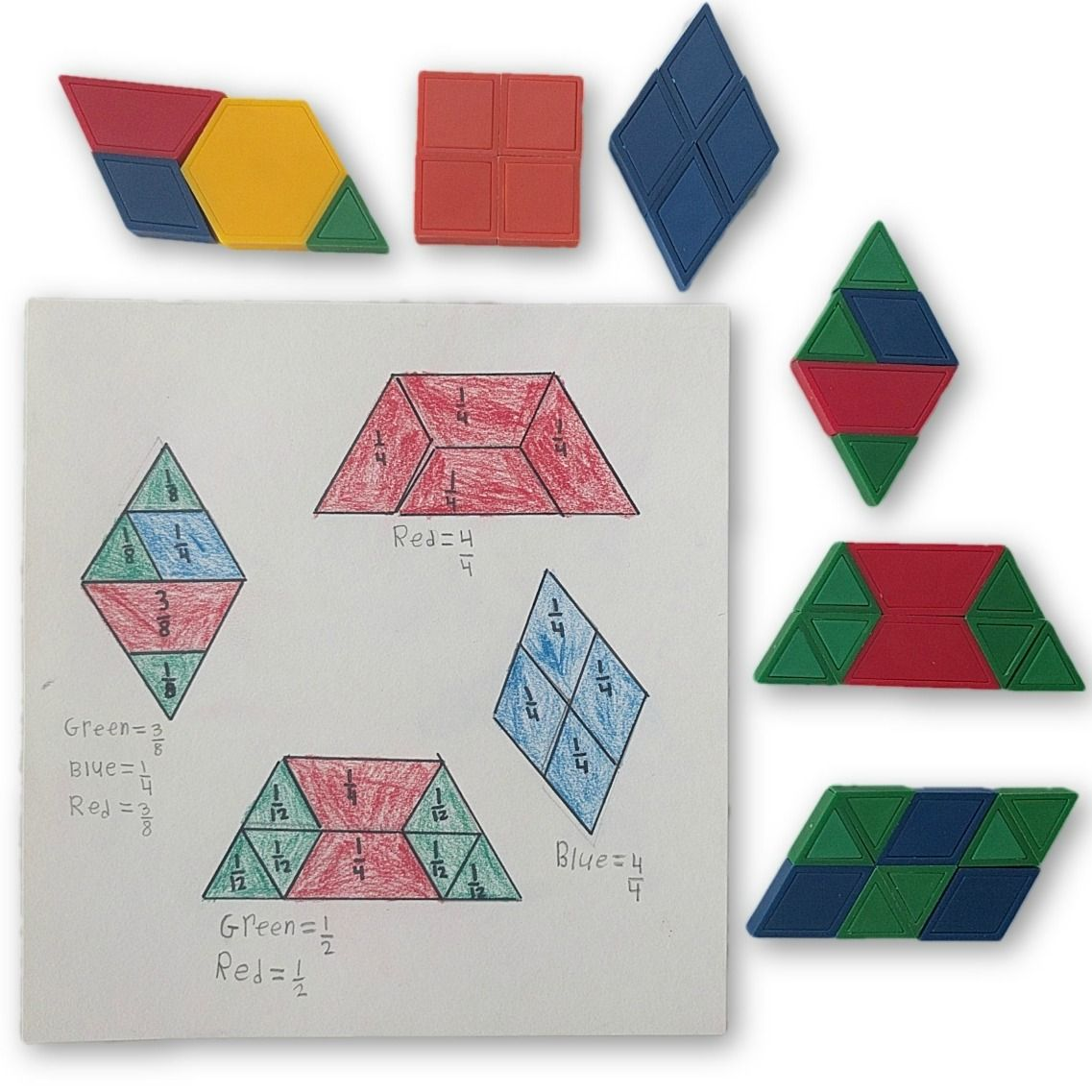 Quadrilateral Fractions Get The Instructions For This