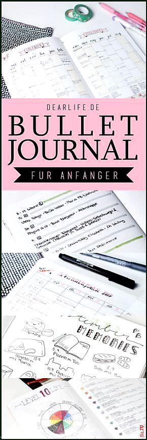 Mein ultimativer Guide zum Bullet Journal f r Anf nger  so startest du dein Bullet Journal in 10 Min...